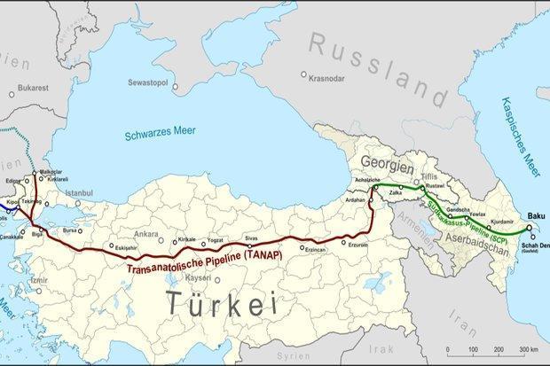 کریدور گازی جنوب اروپا از تحریم های ایران معاف شد