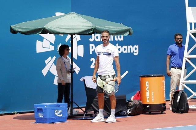 خالدان هم از تنیس انفرادی بازی های آسیایی حذف شد