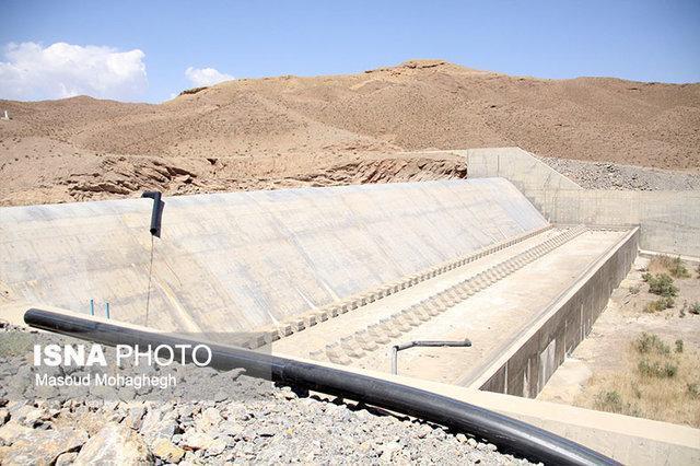 سمنان 11 درصد حجم آب یک سد، آب می خورد!