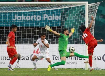 شکست تیم فوتبال امید ایران برابر میانمار، درانتظار حریف مرحله بعد