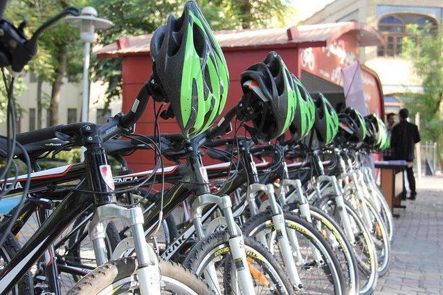 ساخت اولین پارک دوچرخه کشور در یزد