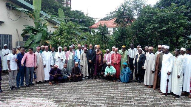 حمایت اعضای جامعه تشیع و تیجانیه گینه از ایران در برابر تحریم های آمریکا