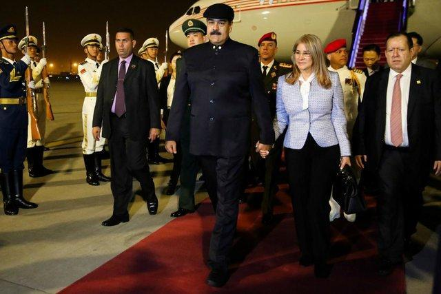مقام های ارشد چین با مادورو دیدار کردند