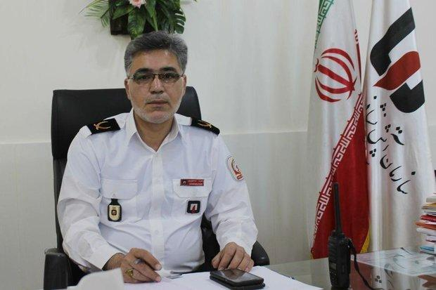 آتش نشانان سمنانی به 100 مورد حادثه و حریق امدادرسانی کردند