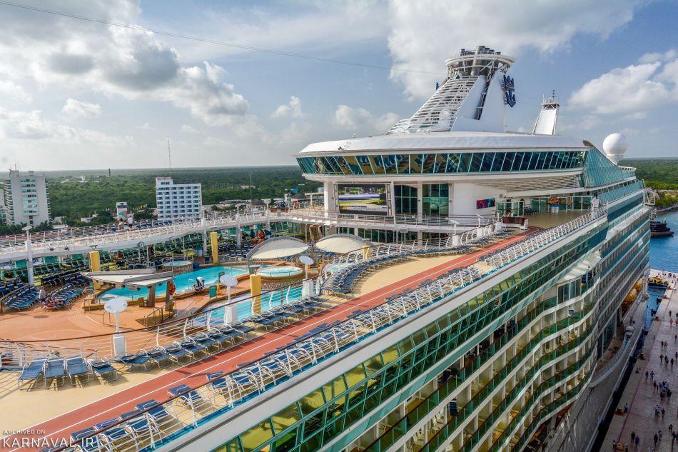 تفریحات کشتی های کروز چیست؟