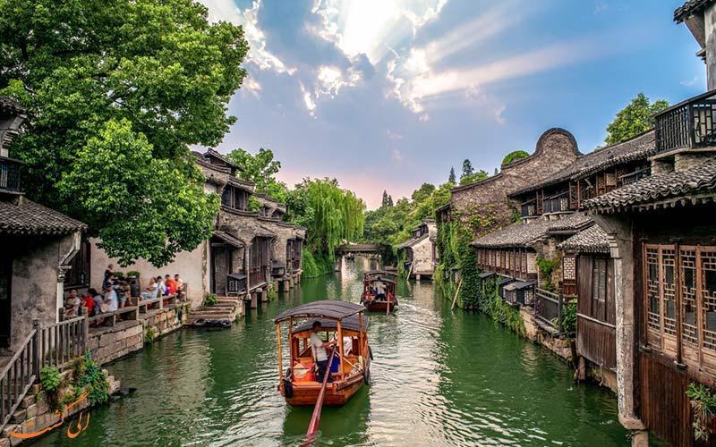 آشنایی با ووژن، شهر آبی چین (Wuzhen)