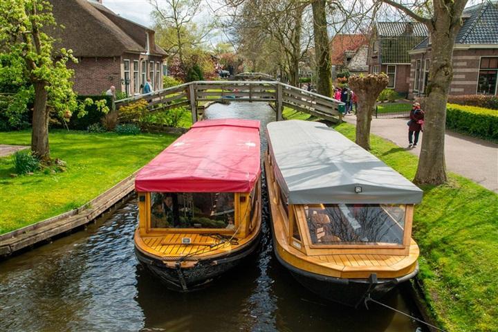 هلند هم شهری همچون ونیز ایتالیا دارد
