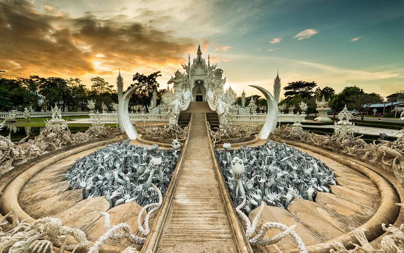 آشنایی با معبد سفید تایلند