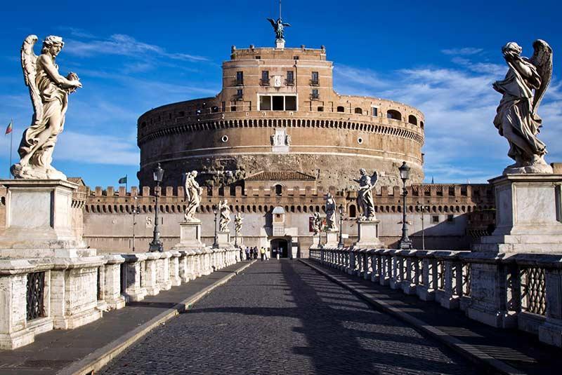 قلعه سنت آنجلو (Castel SantAngelo) رم ایتالیا