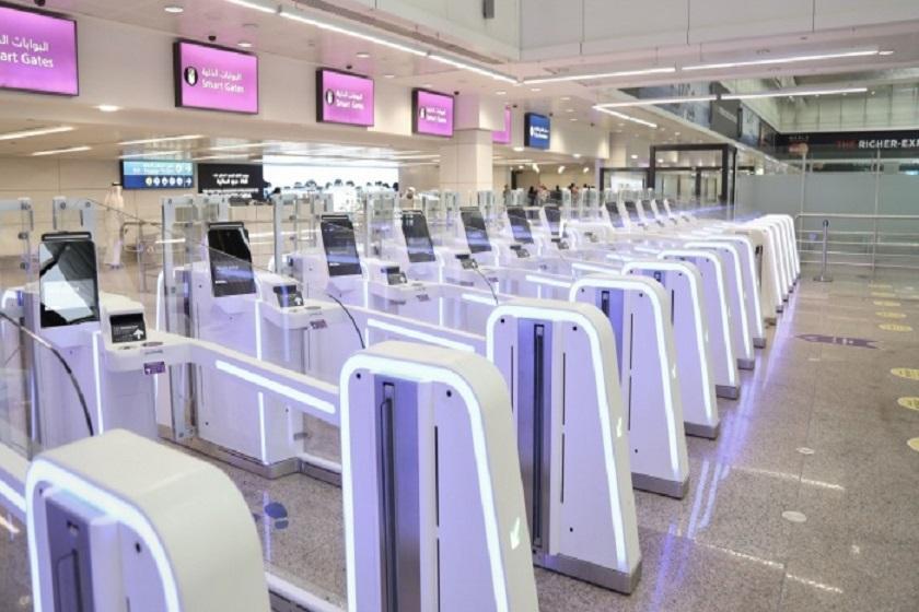 گیت های هوشمند در فرودگاه دبی