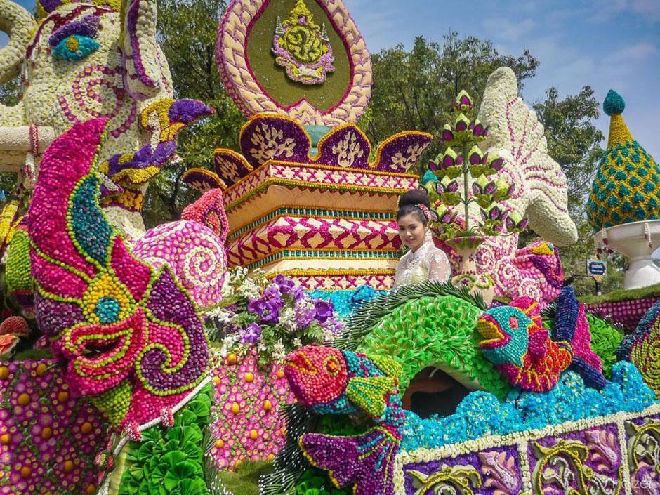 معرفی جشن گل تایلند
