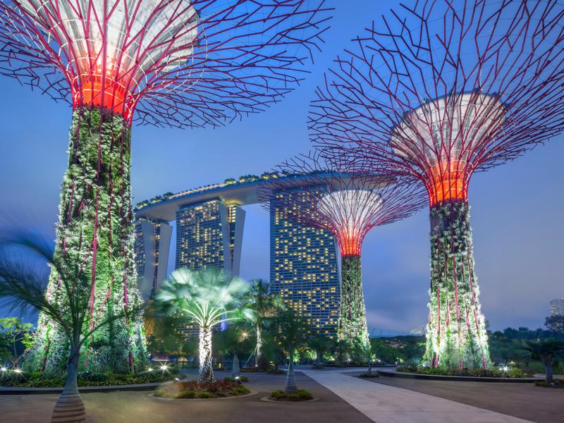 آشنایی با دیدنی های سنگاپور