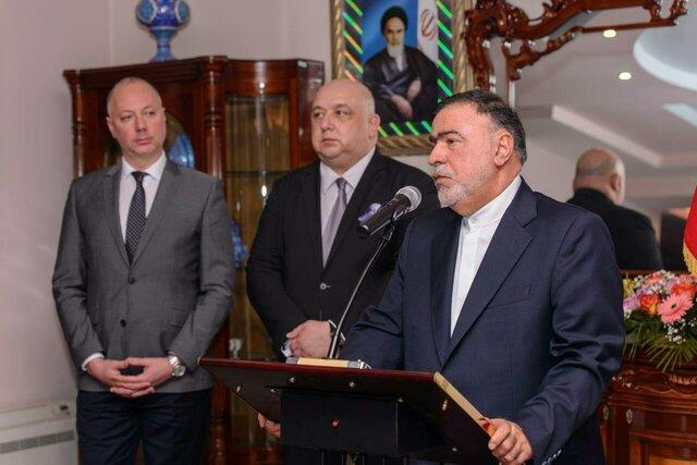 گرامیداشت چهلمین سالروز پیروزی انقلاب اسلامی در سفارت کشورمان در بلغارستان