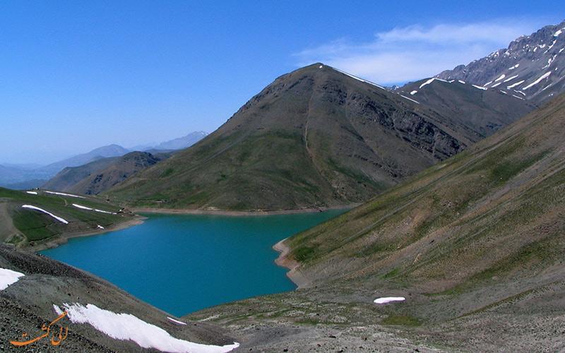 آشنایی با دریاچه های تار و هویر در دماوند