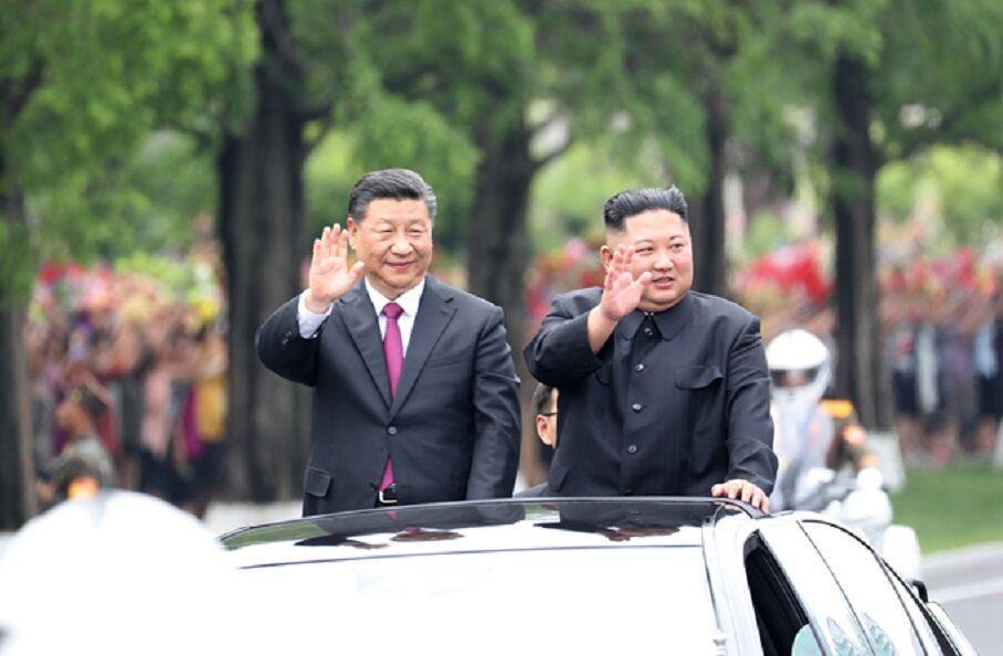 خبرنگاران سرانجام سفر شی از کره شمالی، پکن چین بازیگر اصلی شبه جزیره