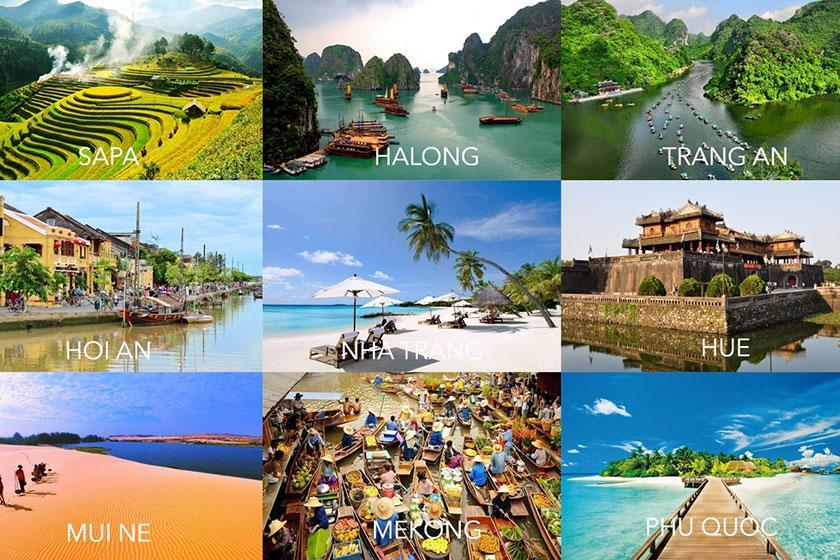 دورنمای ویتنام برای رونق صنعت توریسم