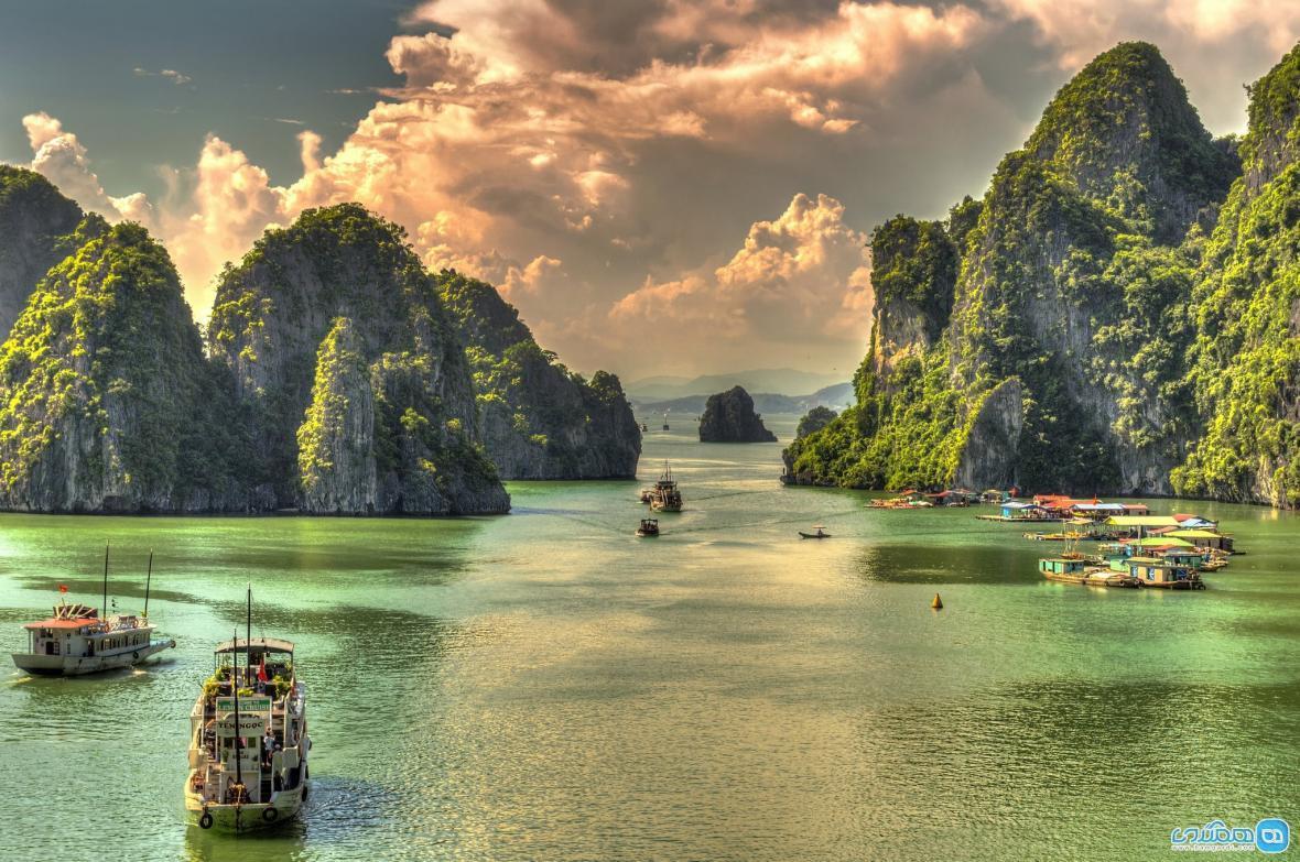 خلیج هالونگ بای ، جاذبه گردشگری در ویتنام به نام اژدهای نشسته