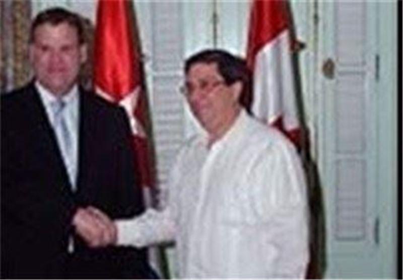 دیدار وزیران خارجه کوبا و کانادا