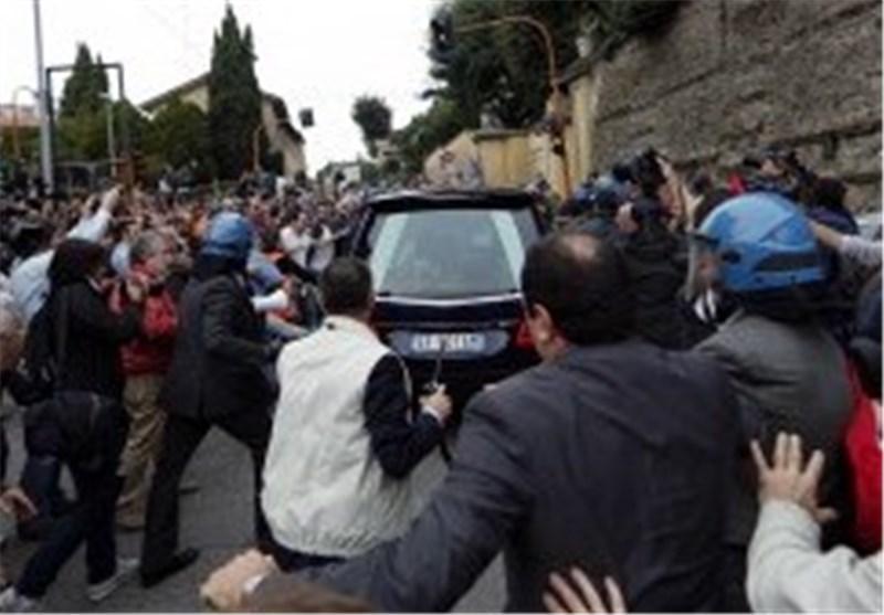مراستم تشییع جنازه یک افسر سابق نازی در ایتالیا ناتمام ماند