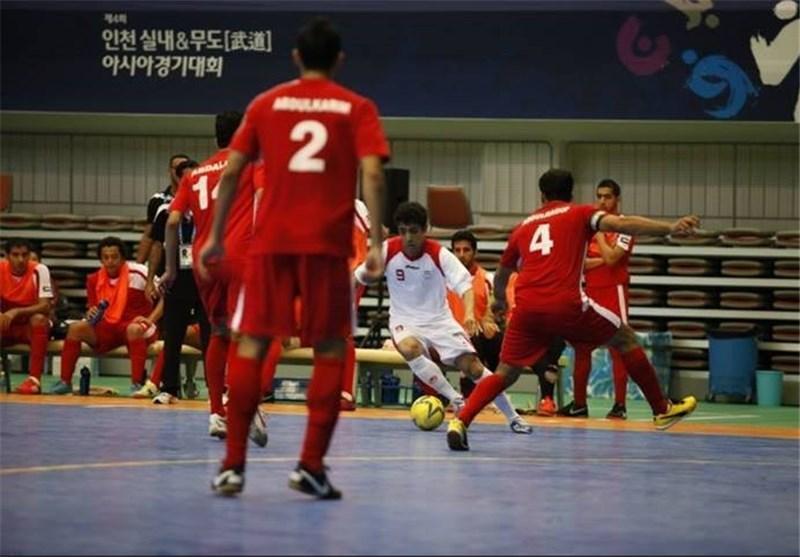 پیروزی پرگل تیم فوتسال امید مقابل ویتنام