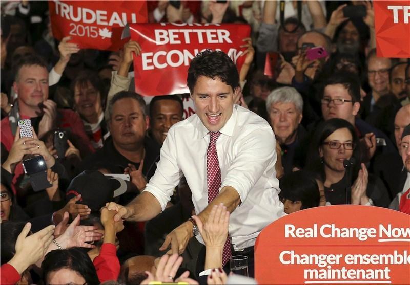 شکست استفان هارپر در انتخابات کانادا؛ جاستین ترودو نخست وزیر جدید شد