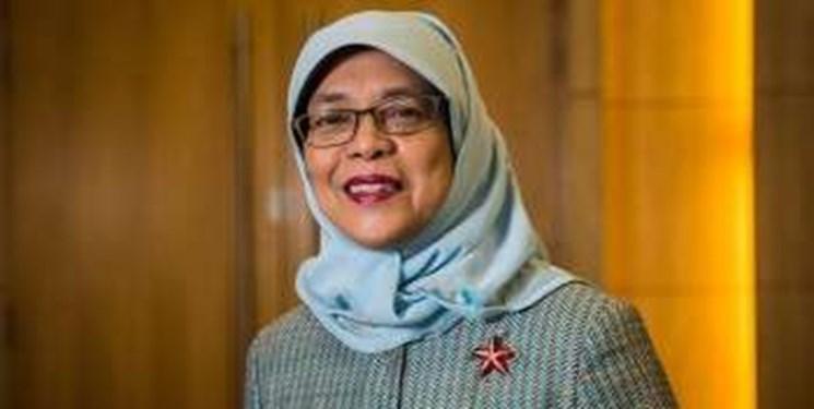 رئیس جمهور سنگاپور چهلمین سالگرد پیروزی انقلاب را تبریک گفت