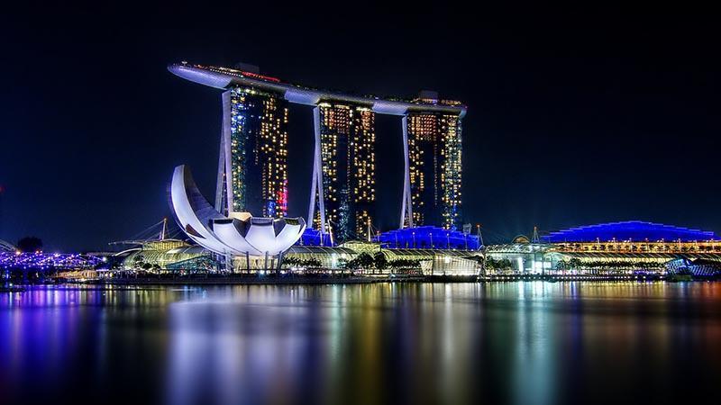 خرید و شام در سنگاپور