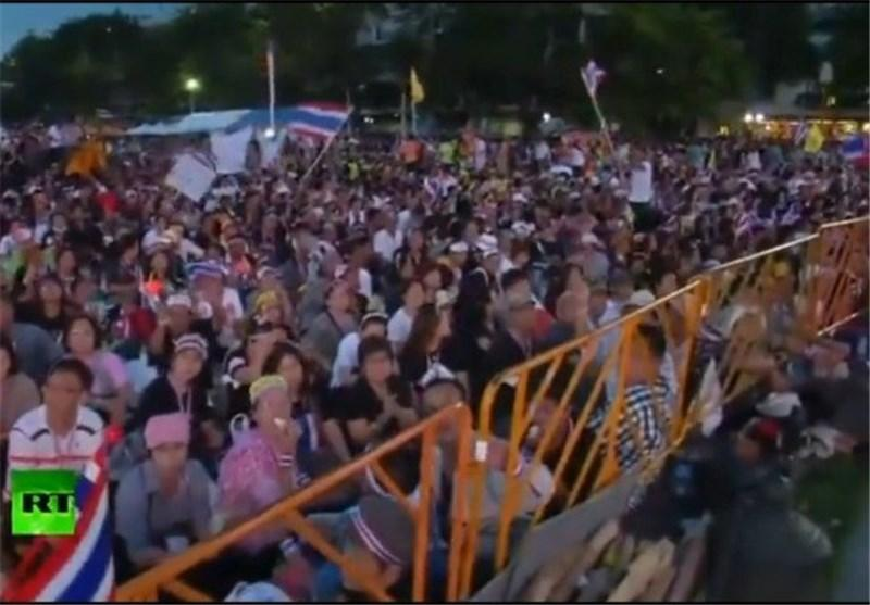 مخالفان دولت تایلند دفتر وزارت خارجه را اشغال کردند