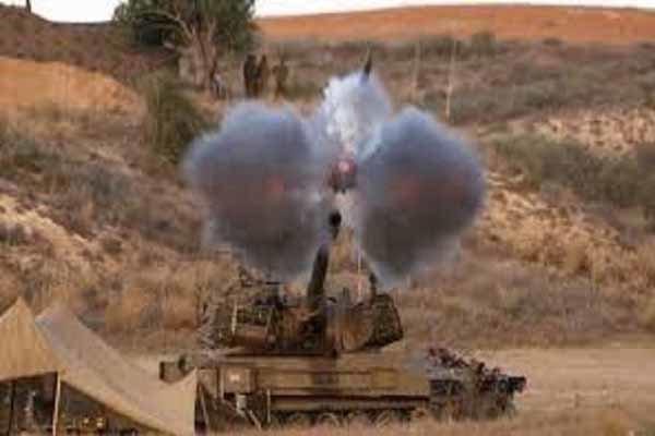 حملات موشکی و توپخانه ای گسترده سعودی ها به صعده یمن