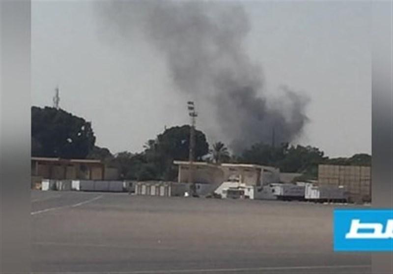 لیبی، حمله جنگنده های حفتر به فرودگاه طرابلس
