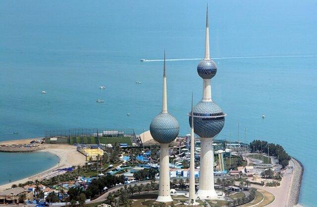 پهپاد ناشناس بر فراز کاخ امیر کویت