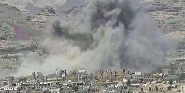 حملات موشکی و توپخانه ای عربستان به صعده
