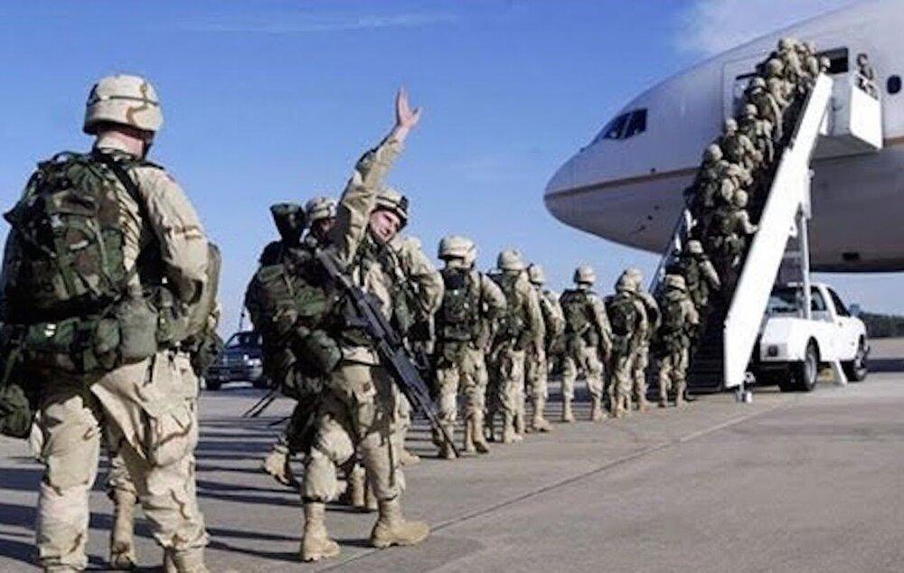 انتقال 40 نظامی آمریکایی، فرانسوی و انگلیسی به عراق