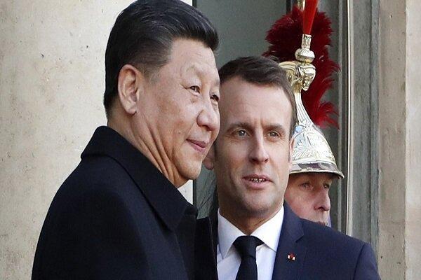 ماکرون 11 تا 13 آبان به چین سفر می نماید