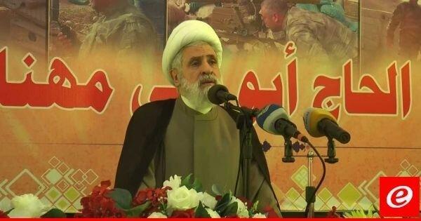 نعیم قاسم: حزب الله از عوامل بحران در کشور نیست