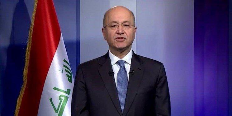 برهم صالح خواستار توقف فوری عملیات ترکیه در سوریه شد