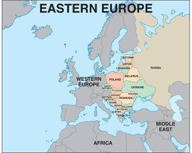 سیاست های دهه 1930 همچنان در اروپای شرقی به چشم می خورد