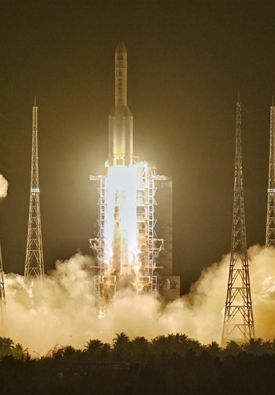 پرتاب سنگین ترین ماهواره تاریخ چین