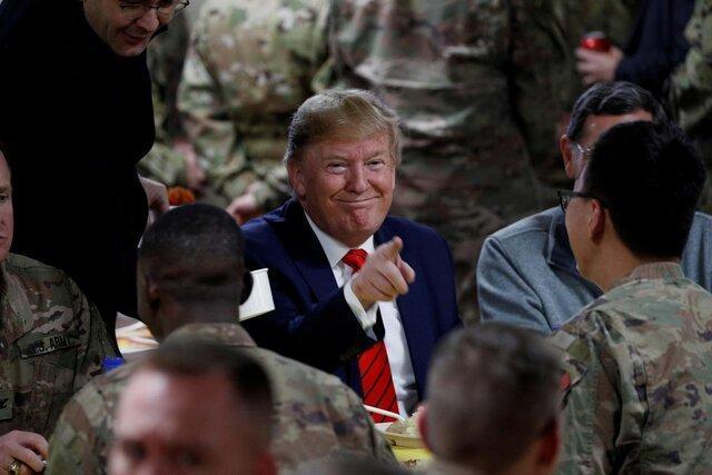 جزئیات سفر مخفیانه ترامپ به افغانستان
