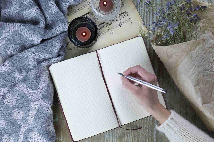 نکته بهداشتی: نوشتن برای برطرف استرس
