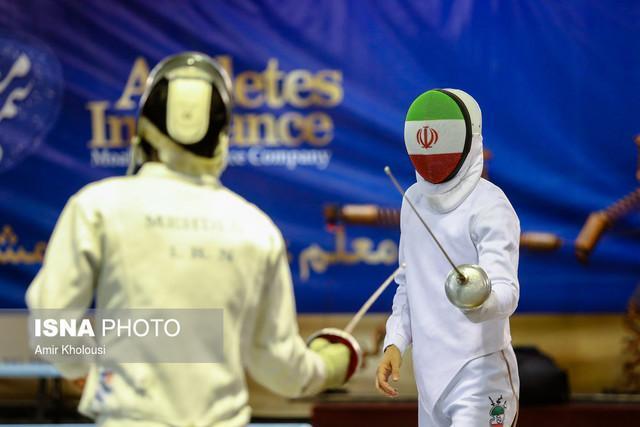 ششمیربازی قهرمانی آسیا ، حذف زودهنگام نمایندگان ایران در اپه مردان و فلوره زنان