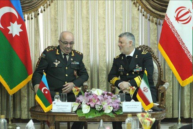 ملاقات معاون وزیر دفاع جمهوری آذربایجان با امیر دریادار خانزادی