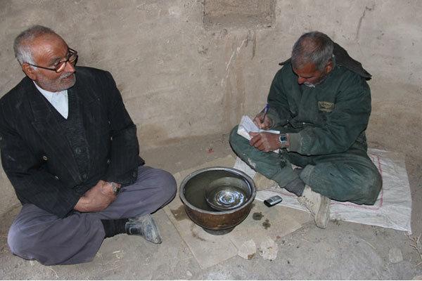 تقسیم بندی آب در روستاهای گناباد هنوز فنجانی است