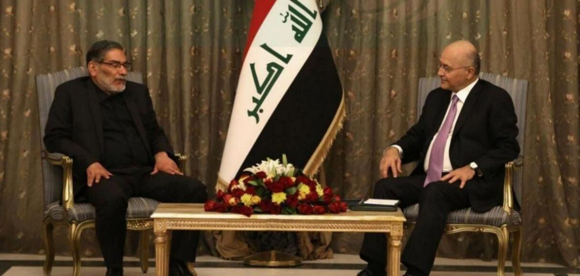 خبرنگاران شمخانی و صالح بر لزوم همکاری ایران و عراق علیه تروریسم تاکید کردند