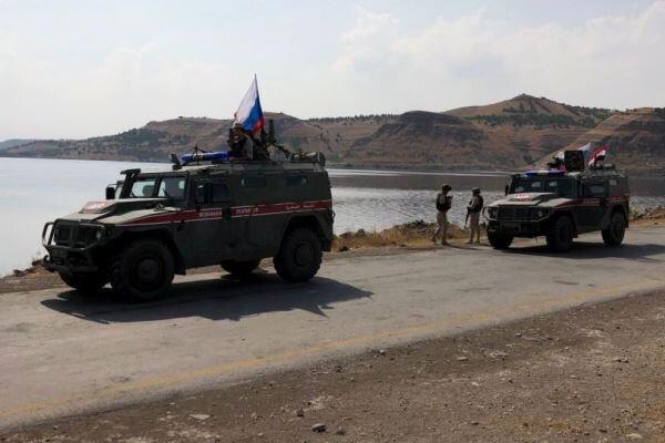 گشت زنی پلیس نظامی روسیه در استانهای حلب و حسکه ادامه دارد