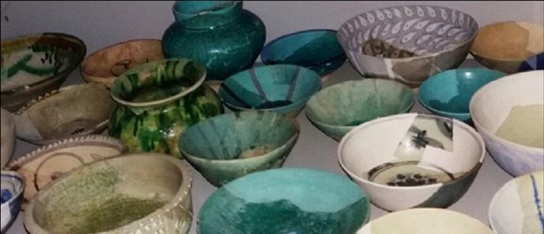 کشف ظروف سفالی مربوط به قرن چهارم و پنجم هجری در جاجرم
