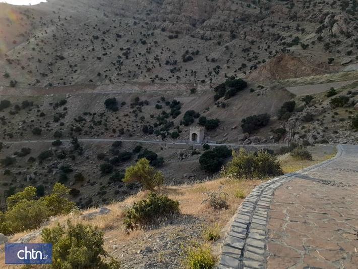 اثر تاریخی طاق گرا در کرمانشاه بازسازی شد