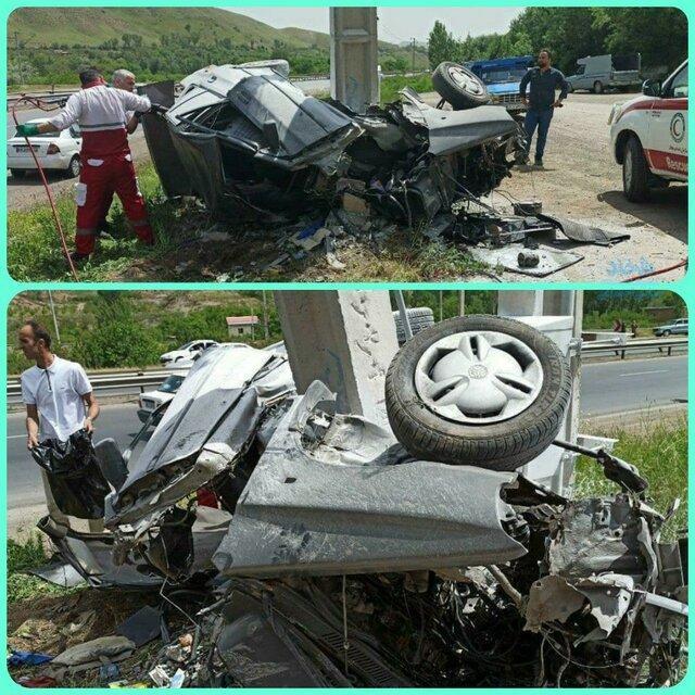 2 کشته و 2 مصدوم در سانحه رانندگی محور اهر-کلیبر