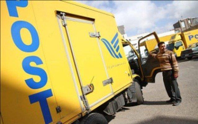 کاهش ارسال مرسولات پستی به 287 میلیون