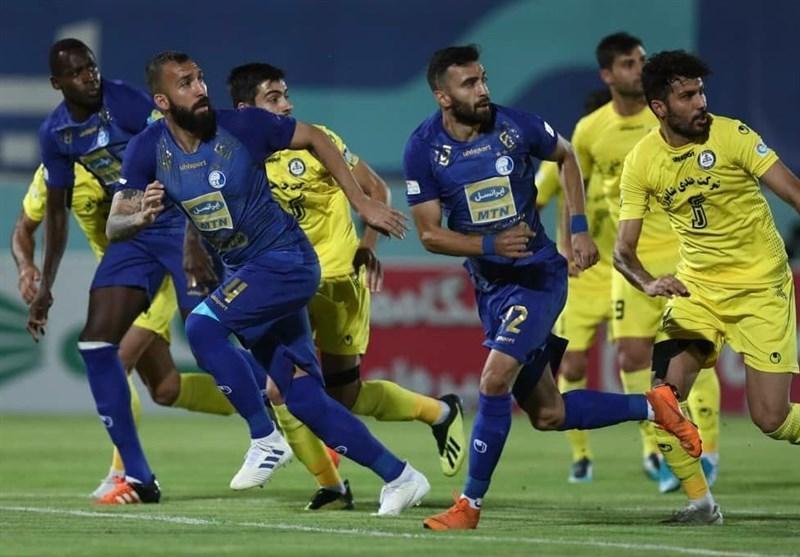 لیگ برتر فوتبال، پیروزی یک نیمه ای استقلال مقابل پارس جنوبی